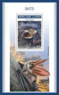 Sierra Leone 2018 Bats  Fauna  S201811 - Sierra Leone (1961-...)