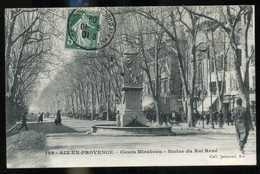 13 AIX EN PROVENCE Cours Mirabeau 1909 (17) - Aix En Provence