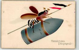 52902376 - Personifiziert Propaganda WK I Pfingsten - Animales