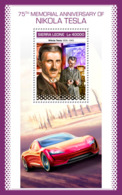 Sierra Leone 2018 Nikola Tesla   S201811 - Sierra Leone (1961-...)