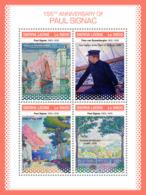 Sierra Leone 2018 Paul Signac Paintings  S201811 - Sierra Leone (1961-...)