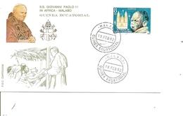 Papes - Jean-Paul II ( FDC De Guinée équatoriale De 1982 à Voir) - Papes