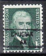 USA Precancel Vorausentwertung Preo, Locals Alaska, Chugiak 841 - Vereinigte Staaten