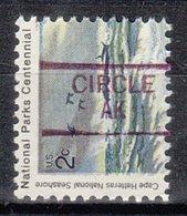 USA Precancel Vorausentwertung Preo, Locals Alaska, Circle 835,5 - Vereinigte Staaten