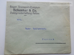 ZA145.2 Germany  - Envelope -Cover - Bayer. Transport-Comptoir -SCHENKER & Co.  PASSAU - Advertising
