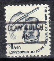 USA Precancel Vorausentwertung Preo, Locals Alaska, Clam Gulch 841 - Etats-Unis