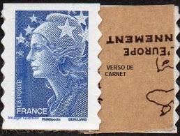 France Autoadhésif N°  179 ** Ou 4201- Marianne De Beaujard De Carnet, Le TVP Bleu - France