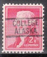 USA Precancel Vorausentwertung Preo, Locals Alaska, College 819 - Etats-Unis