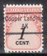USA Precancel Vorausentwertung Preo, Locals Alaska, Cooper Landing 843 - Vereinigte Staaten