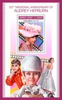 Sierra Leone 2018 Audrey Hepburn  S201811 - Sierra Leone (1961-...)