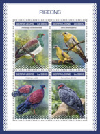 Sierra Leone 2018 Pigeons  S201811 - Sierra Leone (1961-...)