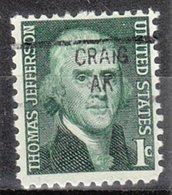 USA Precancel Vorausentwertung Preo, Locals Alaska, Craig 841 - Vereinigte Staaten