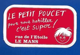 A.C Le Mans LE PETIT POUCET - Stickers