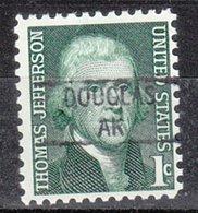 USA Precancel Vorausentwertung Preo, Locals Alaska, Douglas 841 - Vereinigte Staaten