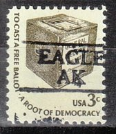 USA Precancel Vorausentwertung Preo, Locals Alaska, Eagle 884 - Etats-Unis
