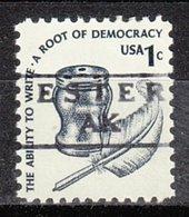 USA Precancel Vorausentwertung Preo, Locals Alaska, Ester 871 - Etats-Unis