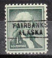 USA Precancel Vorausentwertung Preo, Locals Alaska, Fairbanks 745 - Vereinigte Staaten