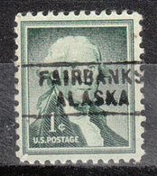 USA Precancel Vorausentwertung Preo, Locals Alaska, Fairbanks 745 - Etats-Unis
