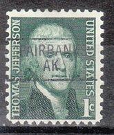 USA Precancel Vorausentwertung Preo, Locals Alaska, Fairbanks 841 (a1) - Etats-Unis