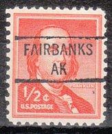 USA Precancel Vorausentwertung Preo, Locals Alaska, Fairbanks 841 (a1.5) - Vereinigte Staaten