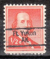 USA Precancel Vorausentwertung Preo, Locals Alaska, Fort Yukon 843 - Etats-Unis