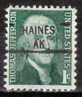 USA Precancel Vorausentwertung Preo, Locals Alaska, Haines 841 - Etats-Unis