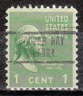 USA Precancel Vorausentwertung Preo, Locals Alaska, Hooper Bay 734 - Vereinigte Staaten