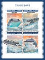 Sierra Leone 2018 Cruise Ships  S201811 - Sierra Leone (1961-...)