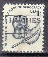 USA Precancel Vorausentwertung Preo, Locals Alaska, Hughes 872 - Etats-Unis