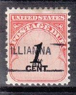 USA Precancel Vorausentwertung Preo, Locals Alaska, Iliamna 841 - Vereinigte Staaten