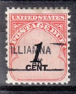 USA Precancel Vorausentwertung Preo, Locals Alaska, Iliamna 841 - Etats-Unis