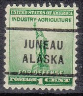USA Precancel Vorausentwertung Preo, Locals Alaska, Juneau 712 - Precancels