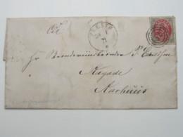 1871 , PRAESTO , Brief - 1864-04 (Christian IX)