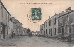 ¤¤  -  BOUAYE   -  La Grande Rue, Près La Poste  -  Attelage De Chien , Voiture à Chien  -  ¤¤ - Bouaye