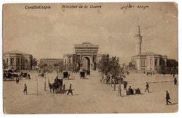 CPA   CONSTANTINOPLE     1918     MINISTERE DE LA GUERRE - Turchia