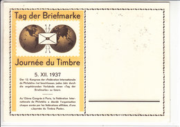 JOURNEE DU TIMBRE 1937 - 1ER ANNEE !!!! - N/C - TTB - Suisse