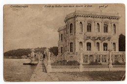 CPA   CONSTANTINOPLE     1918     KIOSK DU SULTAN AUX EAUX DOUCES D ASIE - Turchia