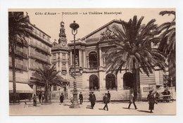- CPA TOULON (83) - Le Théâtre Municipal 1925 - Edition J. Dol - - Toulon