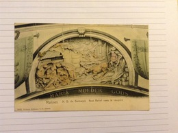 +postkaart, Mechelen N. D. De Hanswyck, Gelopen 1906, Zegel 1 Cent Nr, 53 - Malines