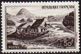 France N°  843 ** Site - Mont Gerbier De Jonc - France