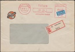 Allemagne 1951. EMA Recommandée 60 Pf Titan (instruments Industriels) - Mythologie