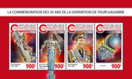 Central Africa  2018 Yuri Gagarin Space   S201811 - Centrafricaine (République)