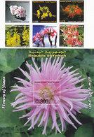 Yemen Rep. 2007 Flowers In Yemen 6 V.+1 Souv.sheet -Nice Scarce Topical Red. Price -MNH- SKRILL PAY ONLY - Yemen