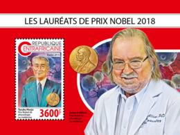 Central Africa  2018  Nobel Prize   S201811 - Central African Republic