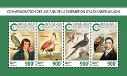Central Africa  2018  Alexander Wilson Birds   S201811 - Central African Republic