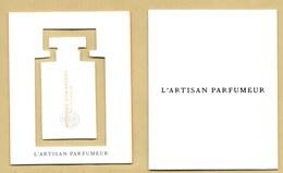 Carte Parfumée Avec Mobile Perfume Card ARTISAN PARFUMEUR + étui - Perfume Cards
