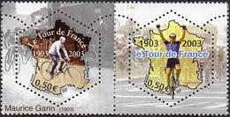 France Sport Cyclisme N° 3582 P ** Tour De France En Paire Horizontale - Ciclismo