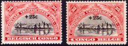 Congo 0132/33* -H- - Belgisch-Kongo
