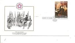 Indépendance USA ( FDC De Colombie De 1976 à Voir) - Indépendance USA