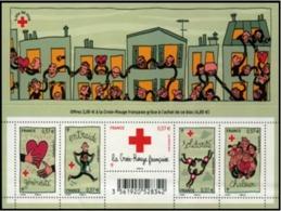 B-F TIMBRE - FRANCE -  2012 - F 4699 (Croix-Rouge 2012) Neuf** - Bloc De Notas & Hojas